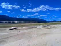 Il fiume Columbia Fotografie Stock