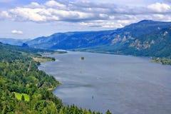 Il fiume Columbia (lato di Washington) Fotografie Stock