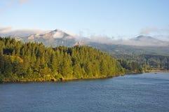 Il fiume Columbia Oregon U.S.A. Fotografie Stock
