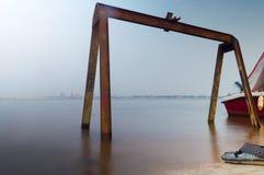 Il fiume Congo Fotografie Stock Libere da Diritti