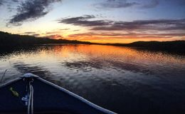 Il fiume Connecticut Fotografia Stock