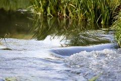 Il fiume corrente fotografia stock