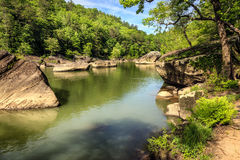 Il fiume Cumberland Fotografia Stock
