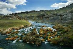 Il fiume d'ebollizione Immagine Stock Libera da Diritti