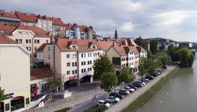 Il fiume del Drava Fotografia Stock
