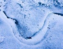 Il fiume del ghiaccio Immagine Stock