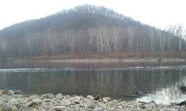 Il fiume Delaware fotografie stock libere da diritti