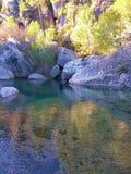 Il fiume di Brugent Fotografia Stock