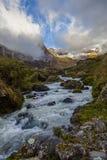 Il fiume di Collanes in vulcano dell'altare di EL Immagine Stock