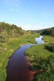 Il fiume di grande Salym Fotografia Stock
