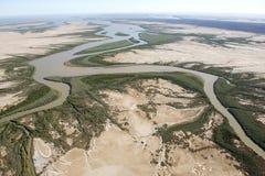 Il fiume di maggio Fotografie Stock Libere da Diritti