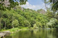 Il fiume di Orne Immagine Stock