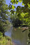 Il fiume di Sella fotografie stock