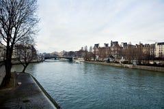 Il fiume di Sena 2 Fotografia Stock Libera da Diritti