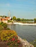 Il fiume di Senaca Fotografie Stock Libere da Diritti