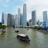 Il fiume di Singapore Fotografie Stock