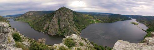 Il fiume di Tagus, Portas fa Ródão Fotografia Stock Libera da Diritti