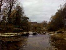 Il fiume di trueba Immagini Stock