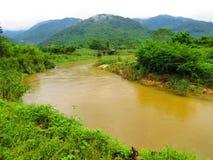 Il fiume Giallo immagini stock