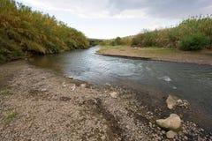 Il fiume Giordania Immagini Stock Libere da Diritti