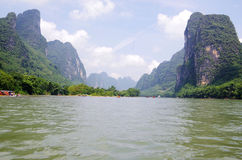 Il fiume Lijiang Immagini Stock