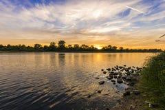 Il fiume Loira, Francia Fotografia Stock Libera da Diritti