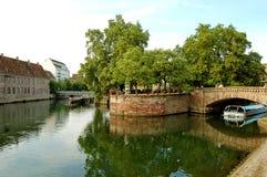 Il fiume malato - Strasburgo - Francia Fotografia Stock