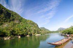 Il fiume Moei immagini stock libere da diritti