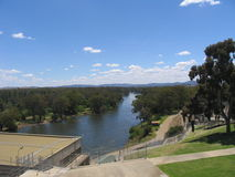 Il fiume Murray Fotografia Stock