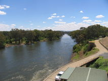 Il fiume Murray Immagini Stock Libere da Diritti