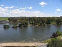 Il fiume Murray Fotografie Stock