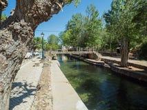 Il fiume nella città Immagine Stock Libera da Diritti