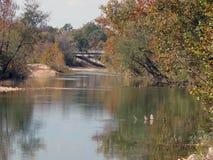 Il fiume nero fotografia stock libera da diritti