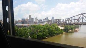 Il fiume Ohio Immagine Stock
