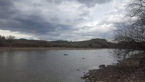 Il fiume Platte Immagini Stock