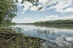 Il fiume Potomac Fotografia Stock