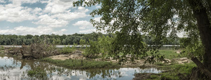 Il fiume Potomac Fotografie Stock Libere da Diritti