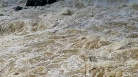Il fiume Potomac a Great Falls stock footage