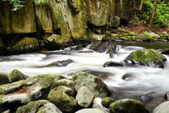 Il fiume selvaggio preannunciato Immagini Stock