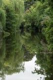 Il fiume tremola Immagini Stock Libere da Diritti