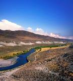 Il fiume Truckee Fotografie Stock Libere da Diritti