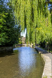 Il fiume Windrush in Bourton-on-the-Water Fotografia Stock Libera da Diritti