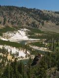 Il fiume Yellowstone Fotografia Stock Libera da Diritti