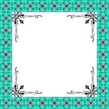 Il floreale verde di lusso della struttura di disegno Fotografia Stock Libera da Diritti