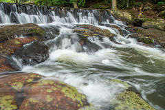 Il flusso dell'acqua Fotografia Stock