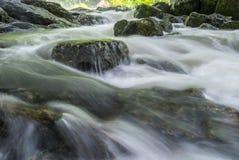 Il flusso dell'acqua Fotografia Stock Libera da Diritti
