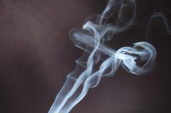 Il flusso di fumo Fotografia Stock Libera da Diritti