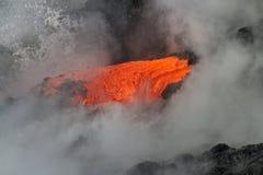 Flusso di lava immagini stock libere da diritti