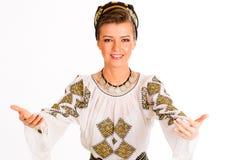 Il folclore rumeno copre tradizionale immagini stock libere da diritti