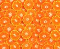 Il fondo astratto con l'arancia affetta il fondo fotografia stock
